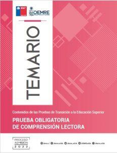 Temario Prueba Obligatoria Competencia Lectora